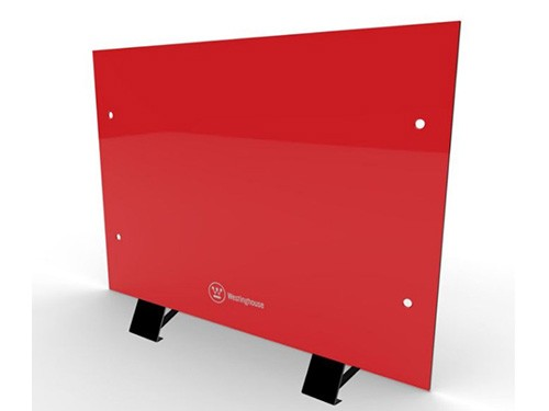 Vitroconvector 2000w Westinghouse Calefactor De Piso O Pared Rojo
