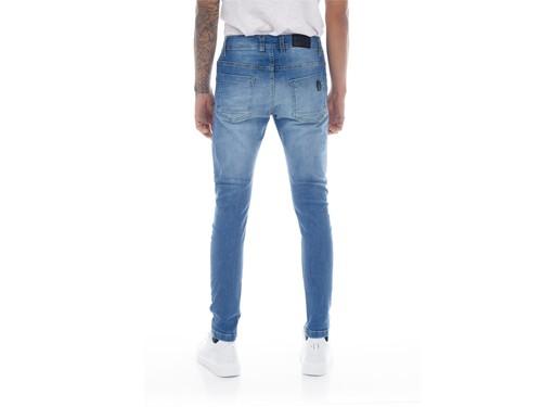 Pantalon Jean Chupin elastizado con localizado