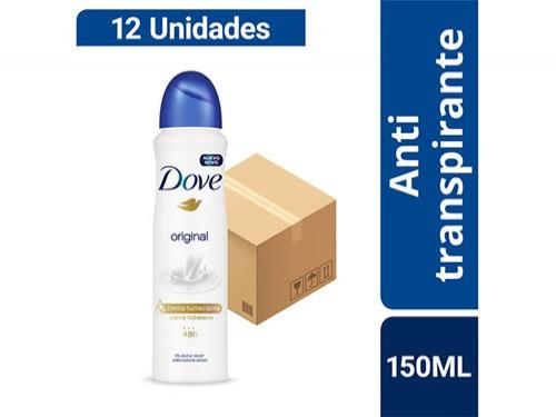 Combo Desodorante Dove Original 150ml X 12u