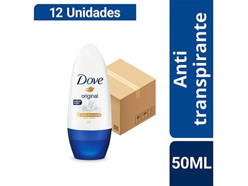 Combo Desodorante Dove Original Bolilla 50ml X 12u