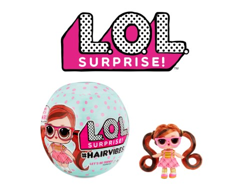 Muñeca LOL Hairbives Coleccionable Sorpresa Original