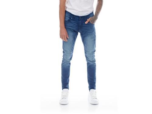 Pantalón Jean Clásico Colbe con localizado