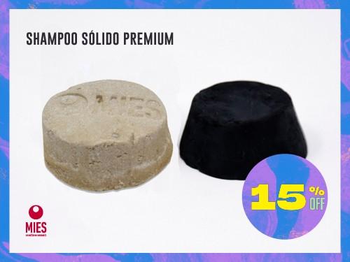 Shampoo sólido natural p la caspa sin sulfatos, parabenos ni siliconas