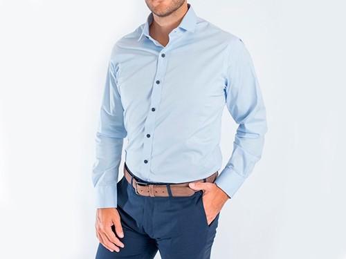 Camisa Slim Fit Lisa c/Spandex MÓNACO Mr.Otto