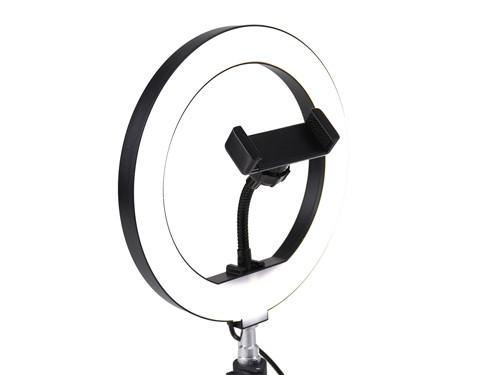 Aro de Luz LED 26cm con Soporte para escritorio