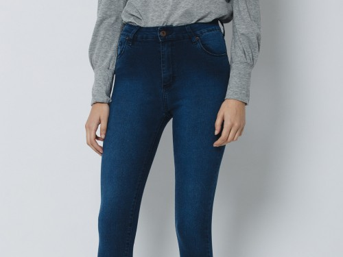 Jean Mujer Super Skinny Cool High Waist F.Fit Up Ankle Wanama