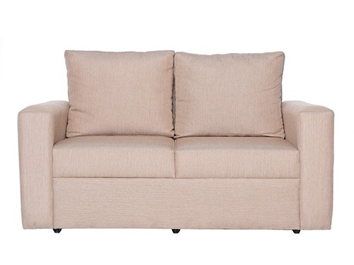 Sillon Sofa Moderno de 2 Cuerpos Beige Sendai