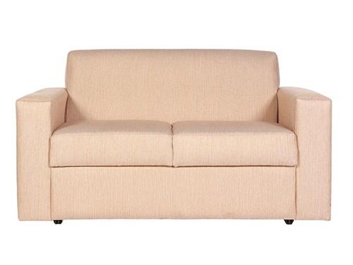 Sillon Sofa Clasico de 2 Cuerpos Beige Catania