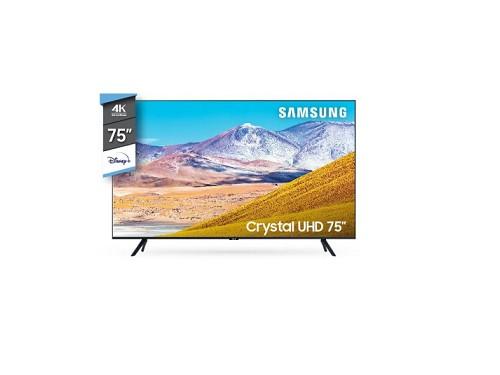"""75"""" Smart TV 4K Crystal UHD TU8000"""
