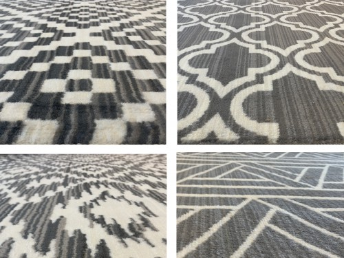 Alfombra Carpeta Moderna Tapete 160x235cm Pelo Corto Varios Diseños
