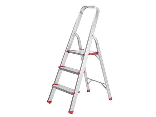 Escalera Aluminio Tijera Domestica 3 Escalones
