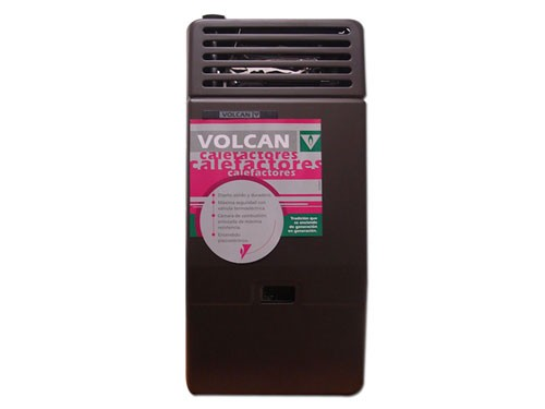 CALEFACTOR SIN SALIDA VOLCAN 2500 42512V GAS NATURAL