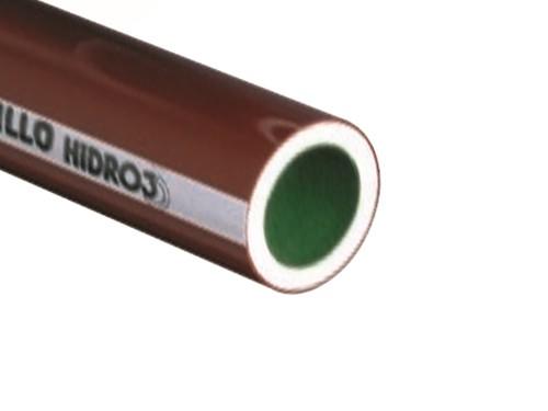 TUBO 2 AGUAS Y CALEFACCION HIDRO 3 ALUM 3/4 X 6 MTS SALADILLO