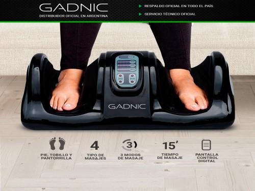 Masajeador Gadnic Healthy Feet Pies Tobillos y Pantorrillas 3 Modos