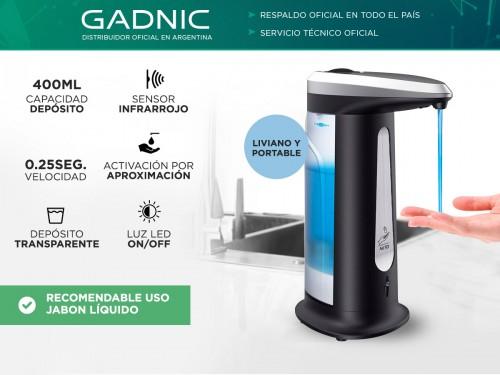 Dispenser De Jabon Automatico Gadnic Desinfectante 400ML