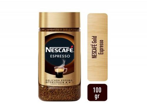 Café Instantáneo Nescafe Gold Espresso 100 Gr
