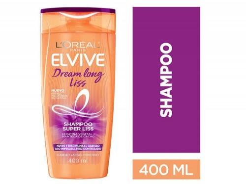Shampoo Dream Long Liss Elvive L´Oréal Paris 400 Ml