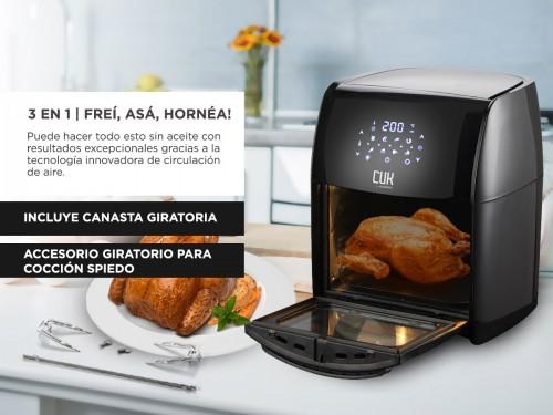 Freidora Sin Aceite Gadnic F12.0 12Lts 1800w Control Digital