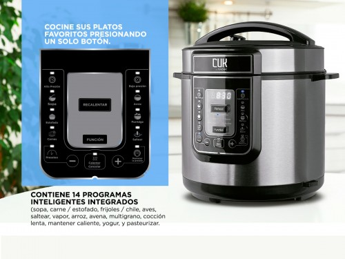 Olla Electrica A Presión Gadnic HD100 Cocción Instantanea Arrocera
