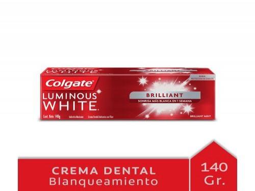 Crema Dental Colgate Luminous White Brilliant 140 Gr