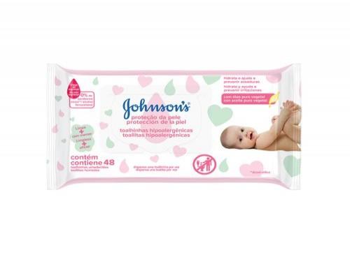 Toallitas Húmedas Para Bebé Johnson'S® Extra Cuidado - 48 Toallitas