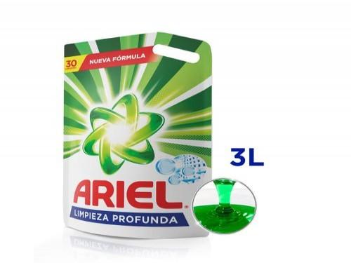 Jabón Líquido Ariel Limpieza Profunda 3 L
