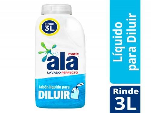 Detergente Liquido Para Ropa Ala Diluible Bot 500 Ml
