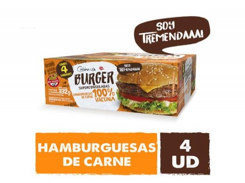 Hamburguesas De Carne Cuisine & Co 332 Gr