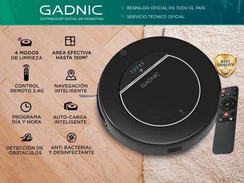 Aspiradora Robot Gadnic Clean Mate Z600 4 Modos 150m2 Silenciosa