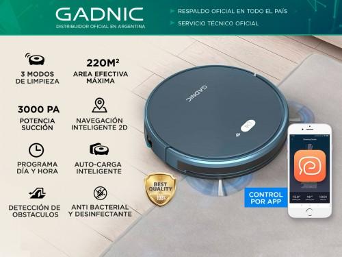 Aspiradora Robot Gadnic Z970 Trapeadora Inteligente