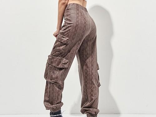 Pantalon Yarara Babucha Gamuzada Mujer 47 Street