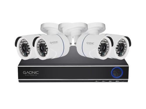 Cámaras de Seguridad + DVR Gadnic x4 Interior / Exterior IP CCTV