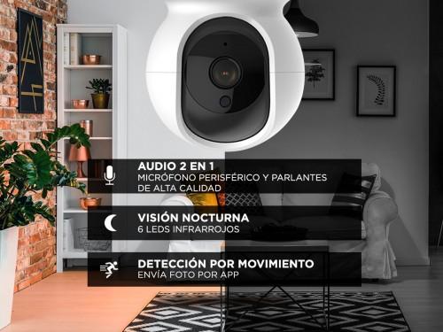 2x Camaras de Seguridad Gadnic Ip Wifi 1080p Full Hd Combo