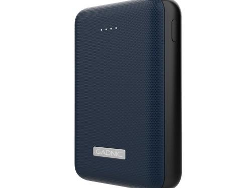 Cargador Portátil Gadnic BC-18 Mini 20000 mAh Carga Rápida 2 USB