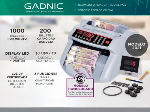 Contadora De Billetes Gadnic MC-01 Profesional 1000 Bil/Min Homologada