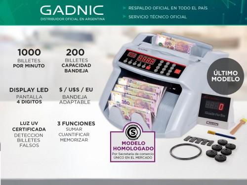Contadora De Billetes C-2200 + Detector UV C-15