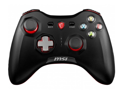 Joystick Inalámbrico Msi Force Gc30 Negro Pc Ps3 Android wireless