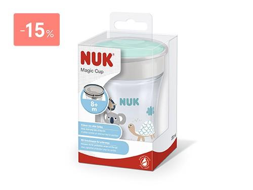 NUK - VASO MAGIC CUP UNISEX 230 ML | FarmaOnline