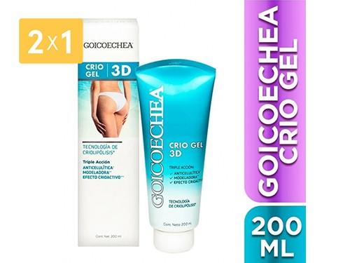 GOICOECHEA - GEL CRIOLIPOLISIS 3D 200 ML | FarmaOnline