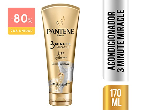 PANTENE - Acondicionador 3mm liso extremo 170 ML | FarmaOnline