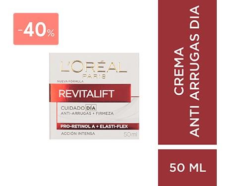 LOREAL - CREMA REVITALIFT ANTIARRUGAS DE DIA 50ML   FarmaOnline