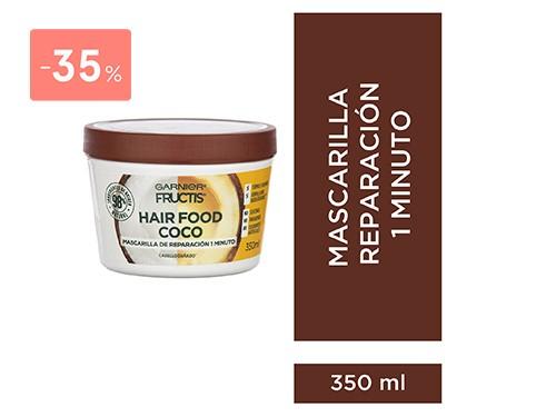 FRUCTIS - Hair food mascarilla coco 350 ML | FarmaOnline