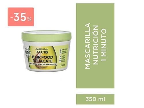 FRUCTIS - Hair food mascarilla aguacate 350 ML | FarmaOnline