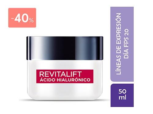 LOREAL - DERMO EXPERTISE REVITALIFT DIA ACIDO HIALURONICO 50 ML