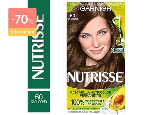 GARNIER - NUTRISSE KIT DE COLORACION EN CREMA 60 CAPUCCINO
