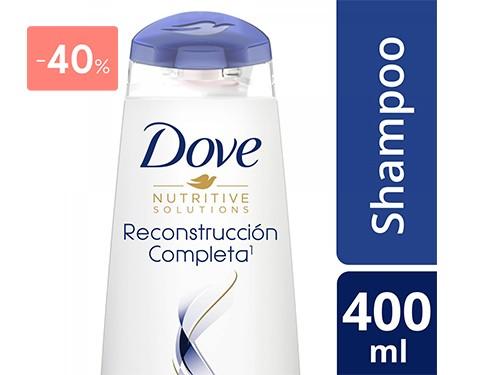 DOVE - Shampoo reconstruccion completa 400 ML | FarmaOnline