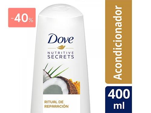 DOVE - Acondicionador ritual reparacion 400 ML | FarmaOnline