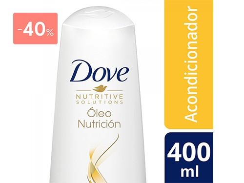 DOVE - Acondicionador oleo nutricion 400ML   FarmaOnline