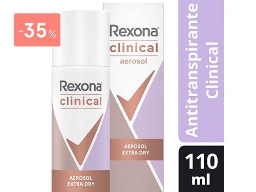REXONA - DESODORANTE ANTITRANSPIRANTE CLINICAL EXTRA DRY