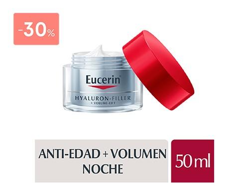 EUCERIN - Hyaluron-filler +volume lift crema noche 50 ML | FarmaOnline